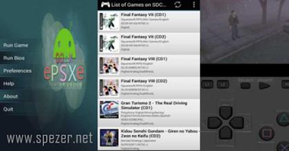 Cara Main Game Playstation 1 (PS1) Menggunakan Aplikasi ePSXe