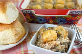 Vegetarian Tater Tot Casserole
