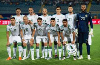 جزائريان في التشكيلة المثالية للدور الاول لكاس افريقيا 2019