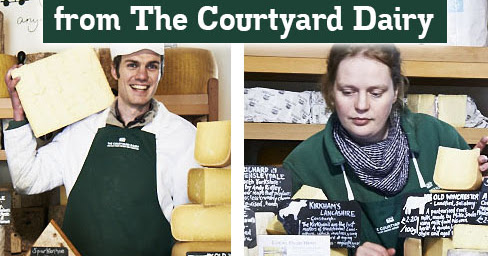 The Artisan Food Trail: Competition time: Win an artisan cheese selection from The Courtyard Dairy for Father's Day