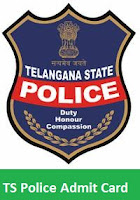 TS Police Admit Card