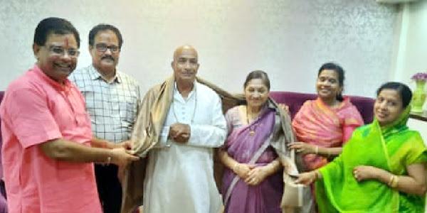 अखिल भारतीय नाहर महासंघ के राष्ट्रीय कार्यकारिणी सदस्य बाबुलाल नाहर का आनलाईन अमृत महोत्सव मनाया गया