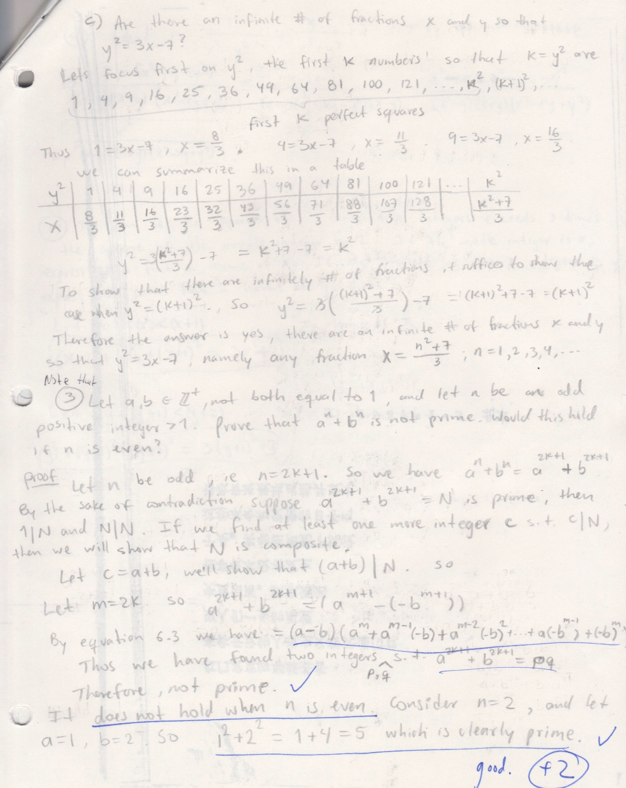 My old math homework from UC Berkeley : Math 151 hw11