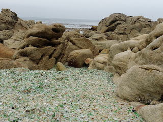 Playa de los cristales, Laxe, A Coruña