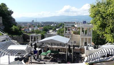 Theater von Philippopolis - Plovdiv, Bulgarien - Sommer 2019
