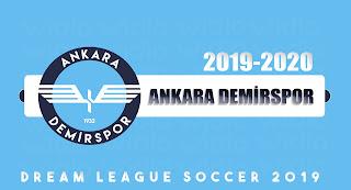 Ankara Demirspor 2019-2020 DLS19 / FTS Dream League Soccer 19 Forma Kits ve Logo