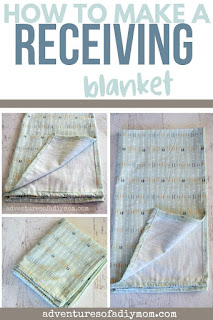 easy receiving blanket