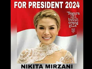 Foto Nikita Mirzani For President 2024 Mulai Beredar Di Dunia Maya