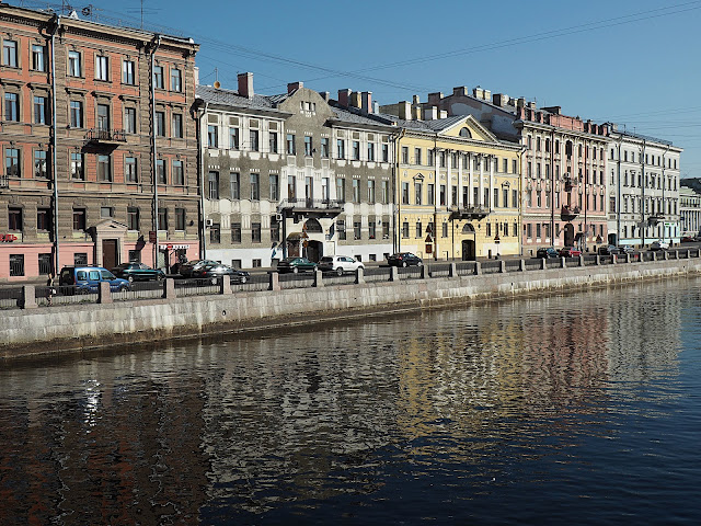 Санкт-Петербург - река Фонтанка (St. Petersburg - Fontanka River)