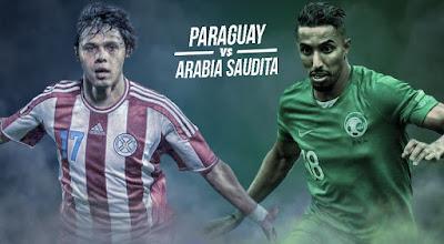 مباشر مباراة السعودية وباراجواي الان