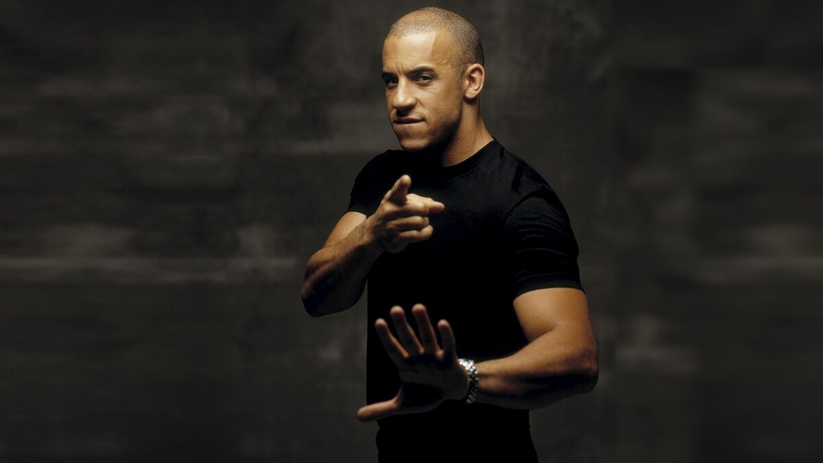 Vin Diesel. Gamers are his family
