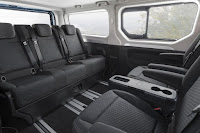 Vauxhall Vivaro Tourer Weekender (2018) Interior - Day Mode