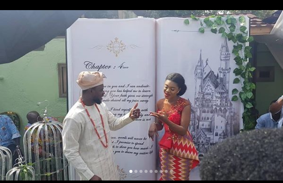Photos: Becca Marries Her Sweetheart, Tobi Sanni Daniel