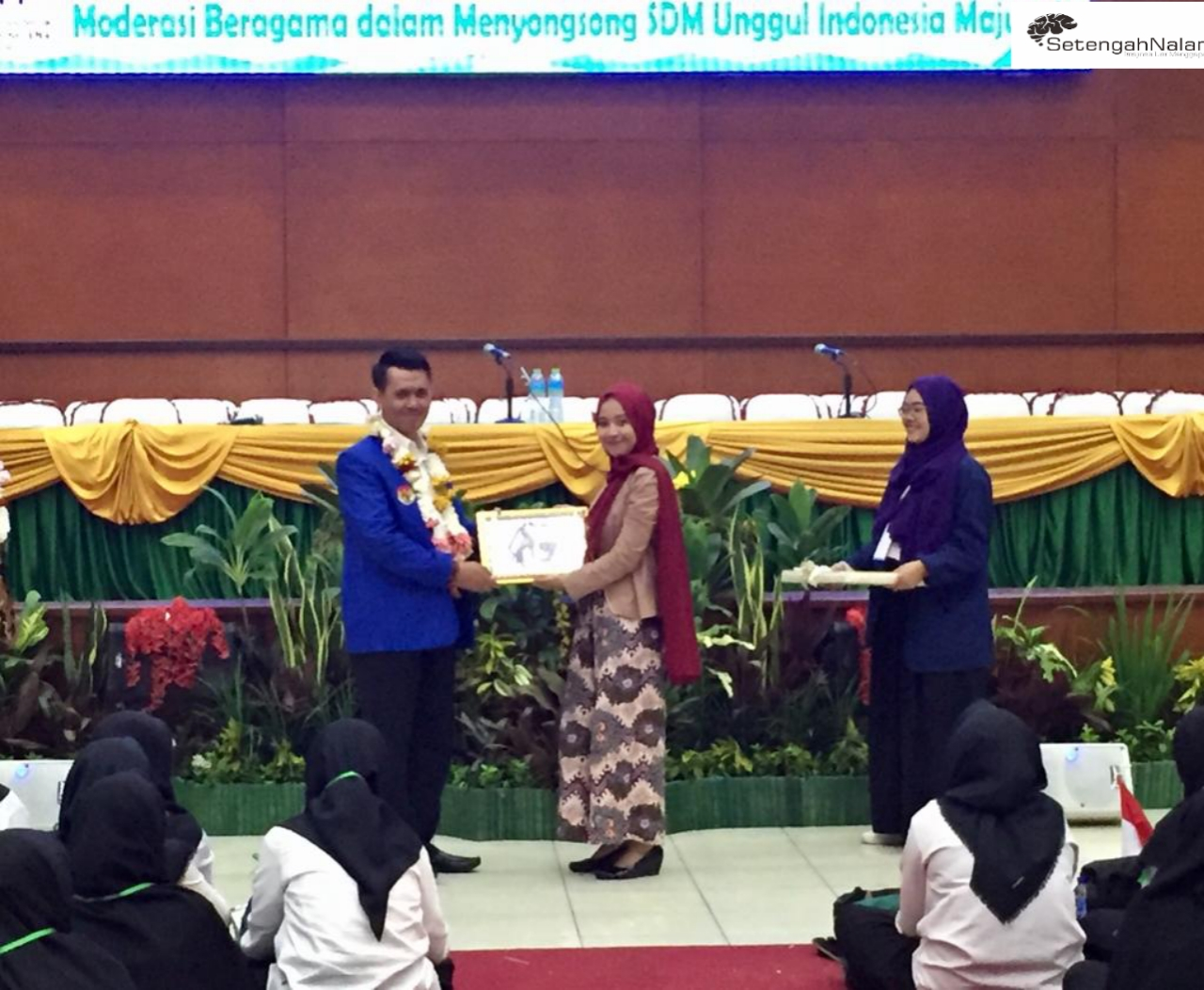 Sekjen DPD KNPI Jabar Beri Pesan Pada Mahasiswa   Di  PBAK UIN Bandung