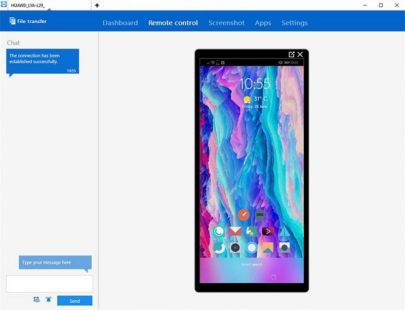 Kendalikan Smartphone Android dari Komputer