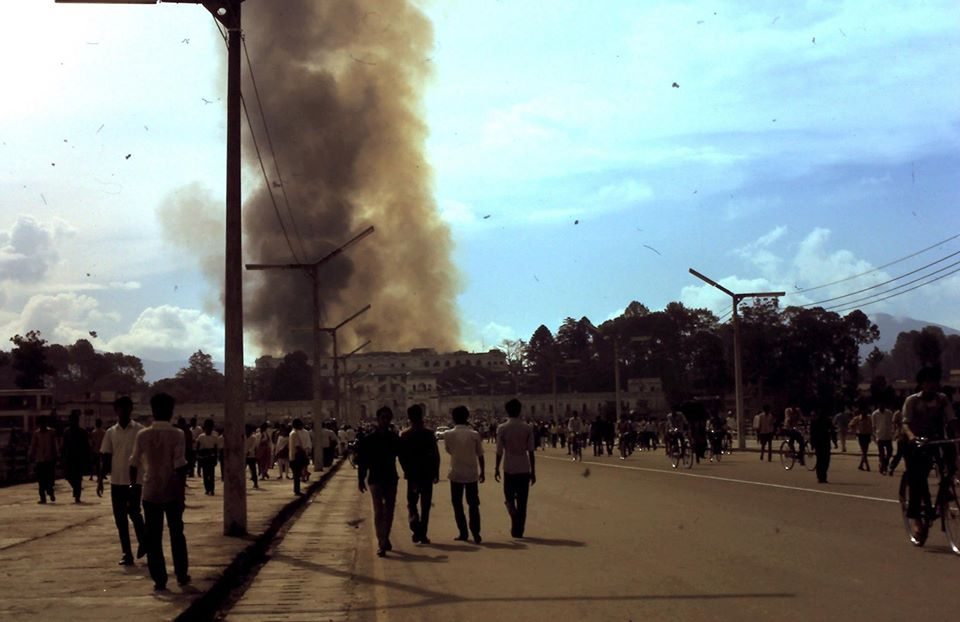 Singha Durbar fire in 1973
