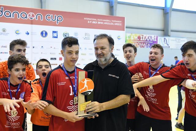 Πρωταθλητές Ελλάδος Λεωνίδας και ΓΑΣ Καματερού στο Danaon Cup