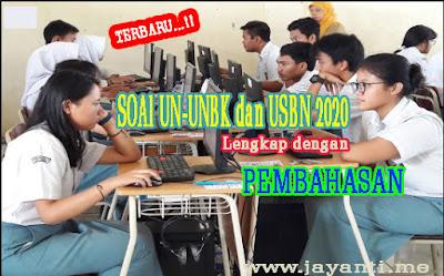 Download Kumpulan Soal dan Pembahasan Latihan UN-UNBK untuk jurusan IPA