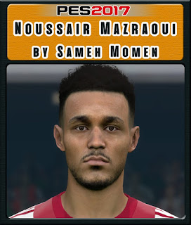 PES 2017 Faces Noussair Mazraoui by Sameh Momen