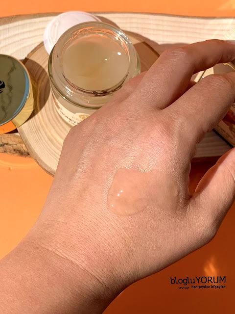 pax moly honey radiant glow cream bal özlü krem yapısı