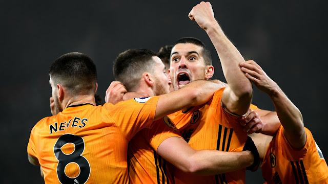 Video Cuplikan Gol: Wolverhampton 3-2 Manchester City (Premier League)