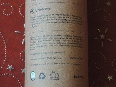 Płyn micelarny i olejek do demakijażu od Resibo