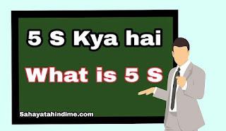 5S-kya-hai