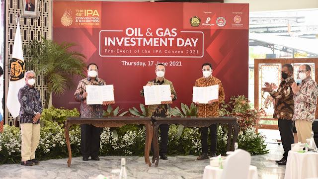PetroChina International Jabung Ltd. Menandatangani Nota Kesepahaman Jual Beli Gas