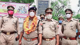 #JaunpurLive : एसपी की प्रेरणा से बदली थाने की तस्वीरः पुलिस उपाधीक्षक