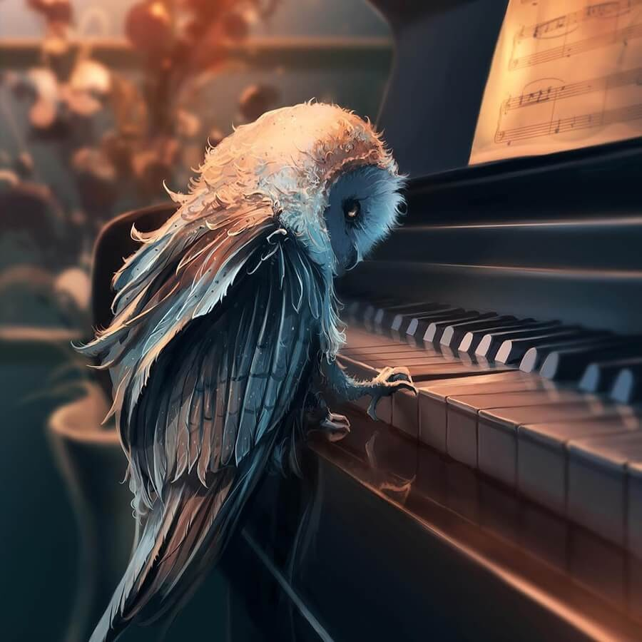 03-Piano-playing-owl-Cyril-Rolando-www-designstack-co