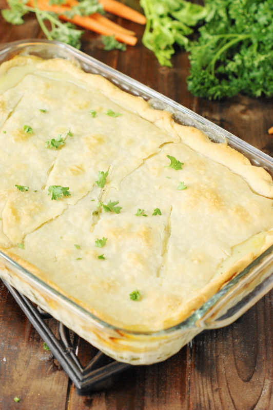 ... My Playground: Chicken Pot Pie {2 Ways ~ Pie Crust or Biscuit Topping