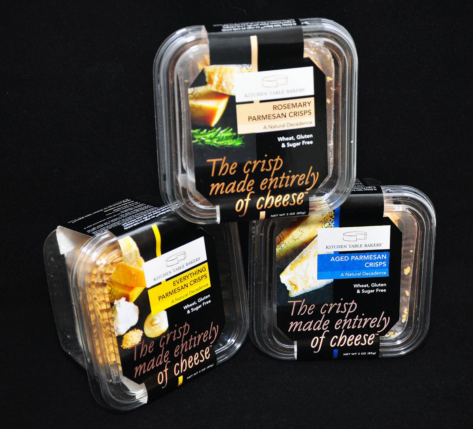 winter fancy food show brands and trends kitchen table bakers Kitchen Table Bakers came up with a genius invention of The crisp made entirely of cheese that comes in different flavors like Aged Parmesan Crisps