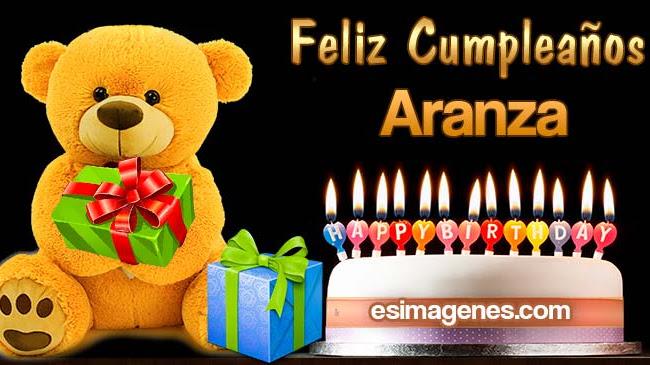 Feliz Cumpleaños Aranza