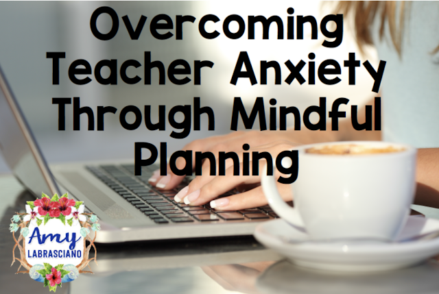 Click here to find ideas for classroom anxiety for students and a link to a post for teachers.  Perfect for those times when you need a little help overcoming anxiety.