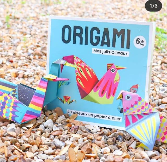 origami - mes jolis oiseaux