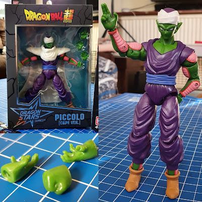 Dragon Ball super dragon stars Series 2 piccolo cape version collage