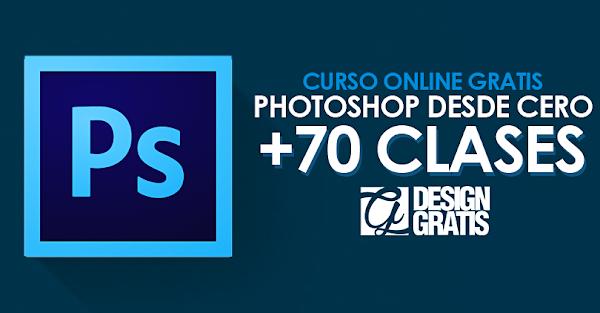 Curso online gratis Photoshop desde cero con +70 clases