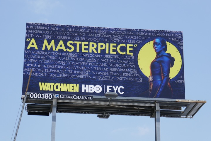 Watchmen 2020 Emmy FYC billboard