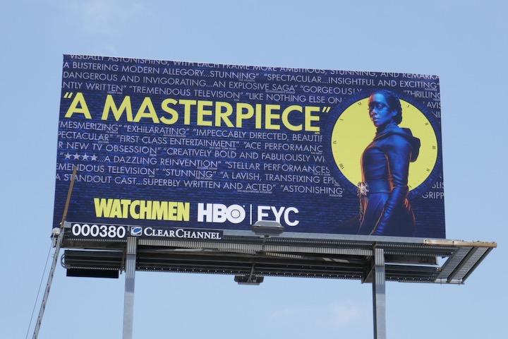 Watchmen 2020 Emmy FYC billboard