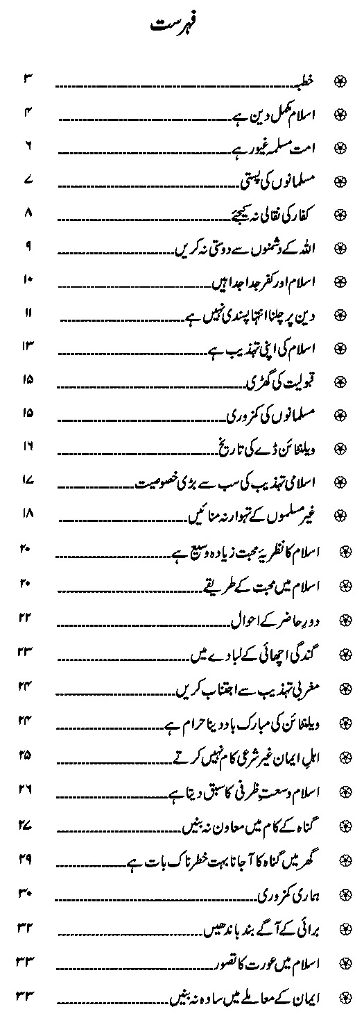 Valentine's Day Islamic Urdu Book in PDF