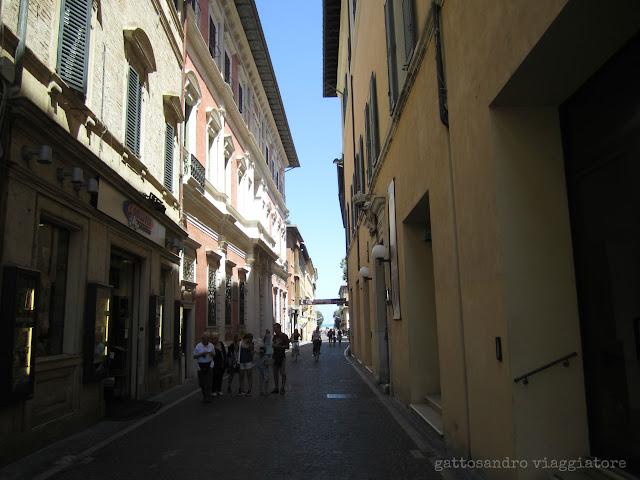 Via Gioacchino Rossini Pesaro