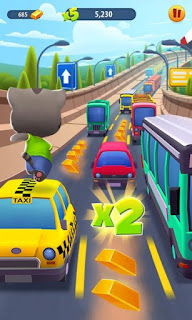 Talking Tom Gold Run Apk Mod v1.0.11 (Infinite Gold Bars)