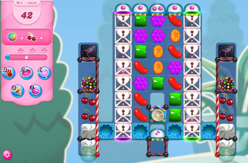 Candy Crush Saga level 9080