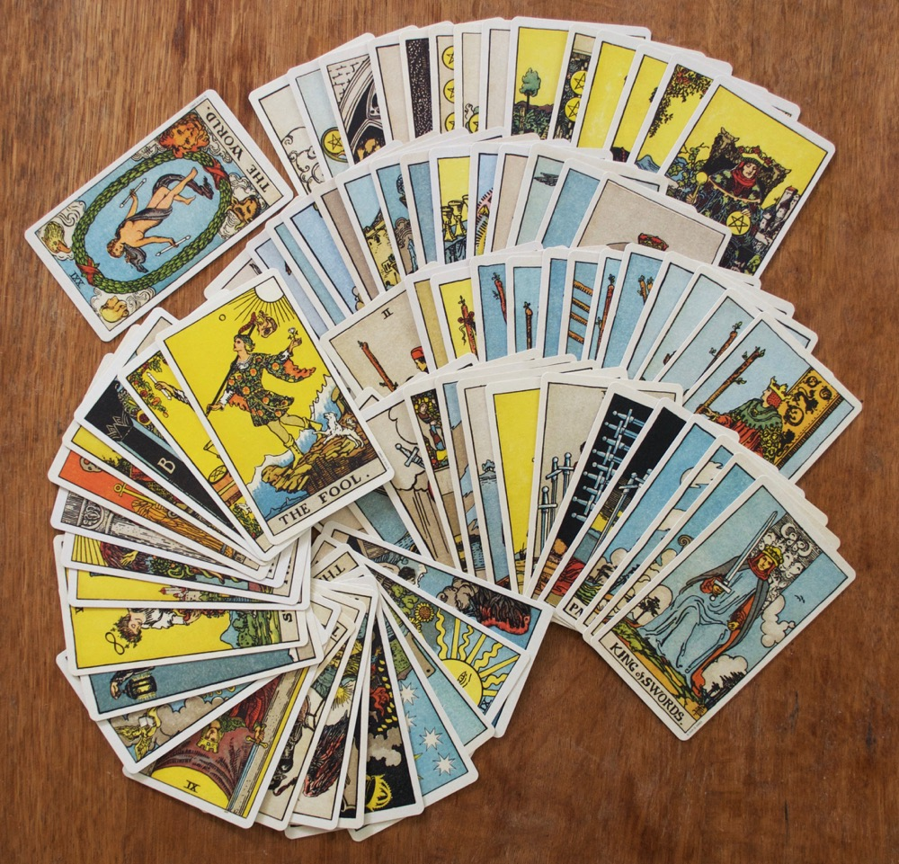 Andy Letcher: The English Magic Tarot