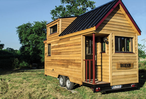 Tiny House Town The Baluchon A 214 Sq Ft French Tiny House