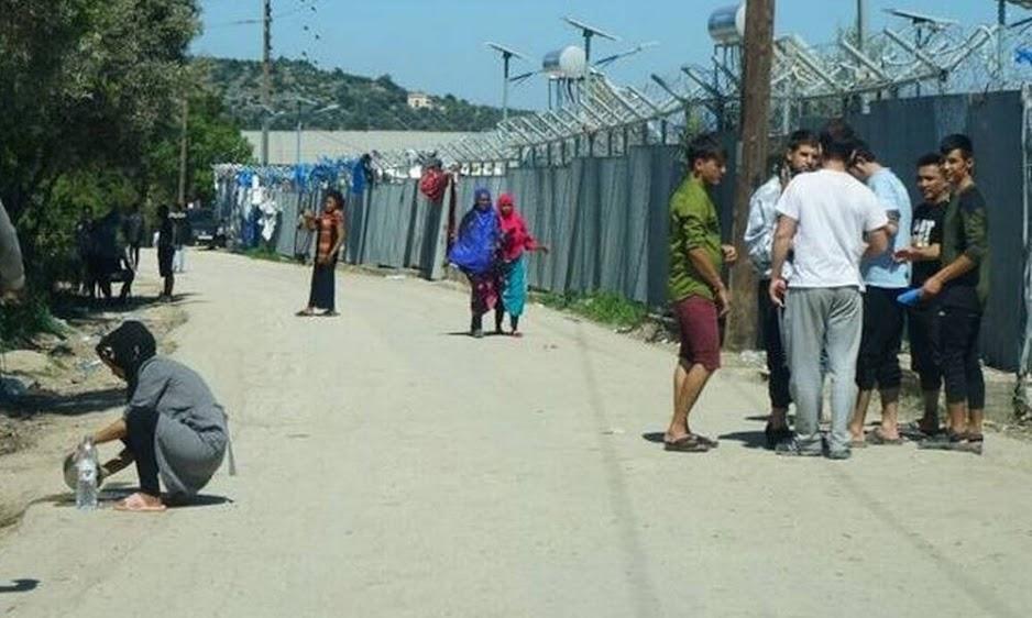 Χαμός στη Χίο με τους μετανάστες