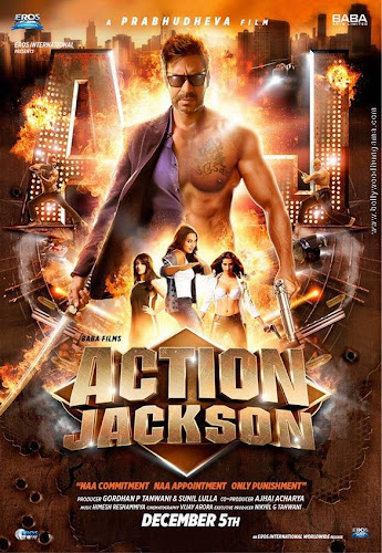 Action Jackson (2014) Movie Poster No. 3