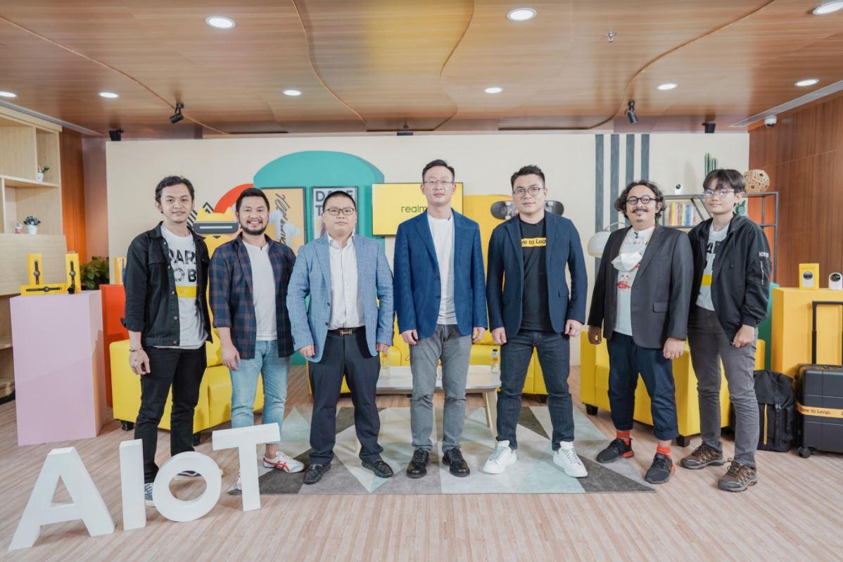 """Realme Gencarkan """"Beli AIoT, Pilih realme"""", Siap Jadi No 1 AIoT Choice di Indonesia"""