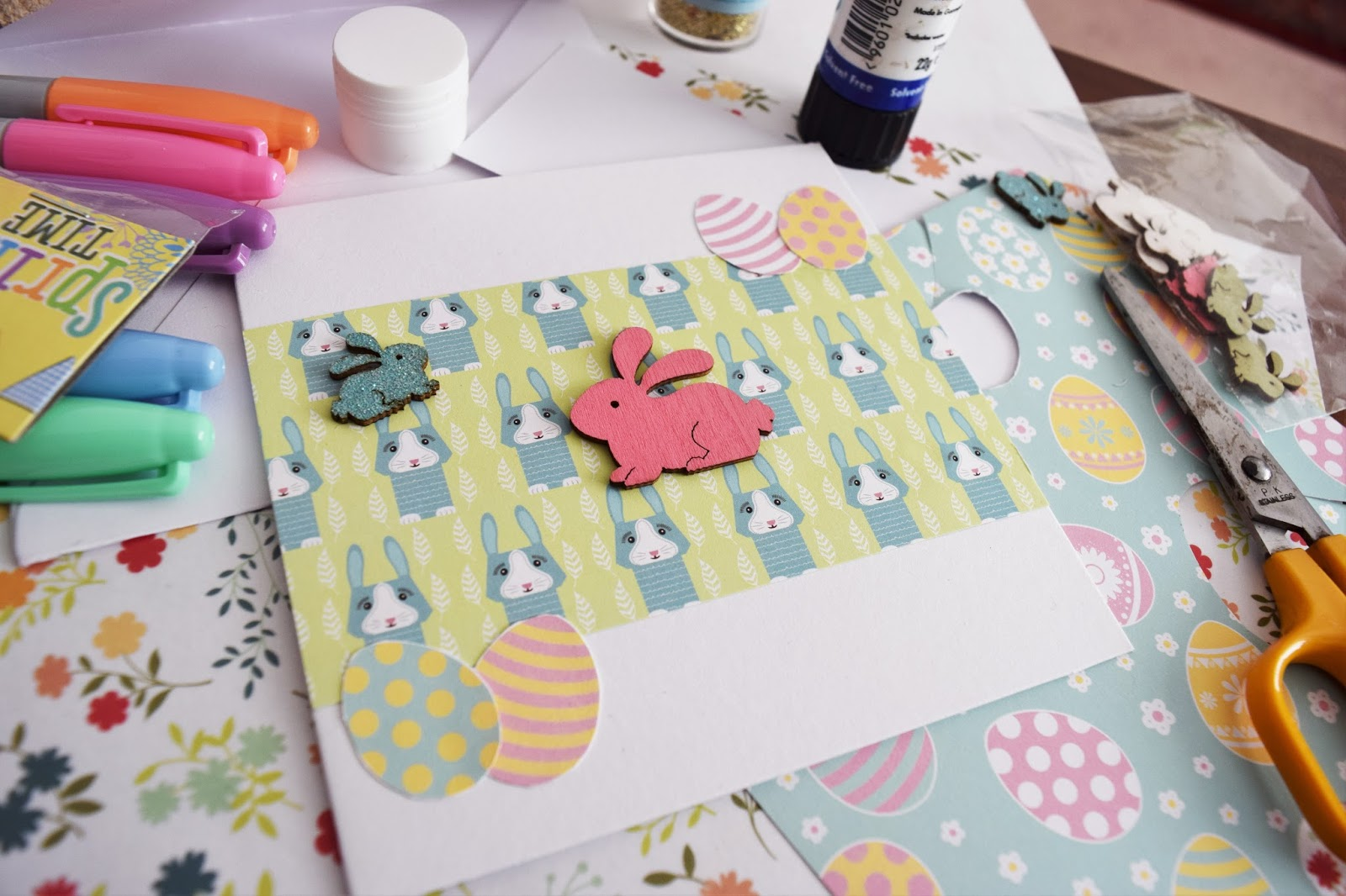 MAKE YOUR OWN EASTER CARDS A Life With Frills – Make Your Own Easter Cards