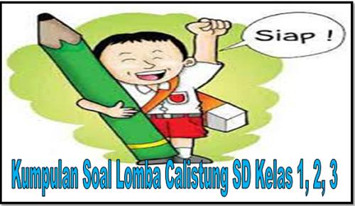 Kumpulan Soal Lomba Calistung Sd Kelas 1 2 3 Revisi Id
